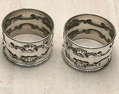 Strasbourg by Gorham Sterling Silver Pair of Napkin Rings #1150