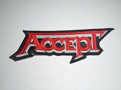 Accept Embroidered Patch
