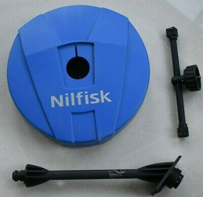 Nilfisk Pressure Washer Compact Patio Cleaner Deck Wall Slab Surface Cleaner
