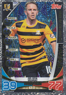 TOPPS MATCH ATTAX SPFL 2019-20 - Alan Trouten - Alloa Athletic - # 225 - MOTM