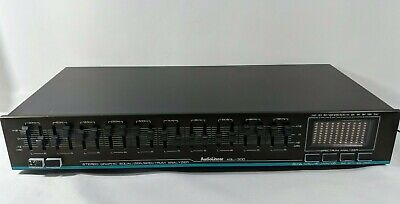 Audiolinear AQL - 300 Stereo Graphic Equalizer/Spectrum Analyzer Vintage Works