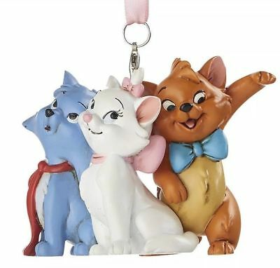 Disney Parks ARISTOCATS 3D Christmas 2019 Ornament New with Tags