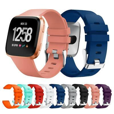 For Fitbit Versa /Lite Replace Silicone Watch Wrist Sports Band Strap Wristband