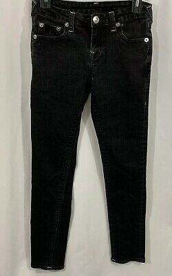 True Religion Jeans Kids Size 14 Black Jeans Skinny