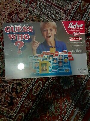 Guess Who? Game Retro Series 1988 Edition New Sealed