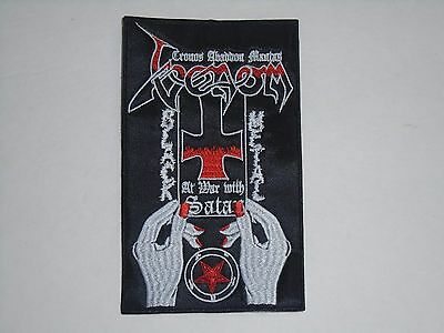 Venom At War With Satan Embroidered Patch
