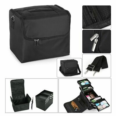 Professional Make up Bag Portable Cosmetics Case Nail Artist Storage Box Travel