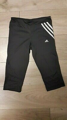 Girls ADIDAS Kids Legging Joggers in Black Clima365 (AG5/10)