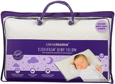 Clevamama Clevafoam Support Baby Pillow 0-12 Months