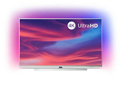 PHILIPS 55 Zoll/139cm Fernseher 4K UHD LED TV 3-fach Ambilight Android HDR 10+