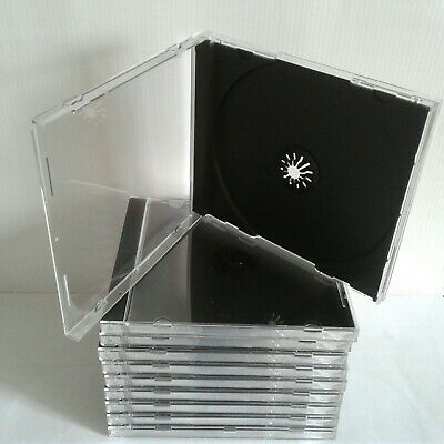 Cd Jewel Case Black Trays