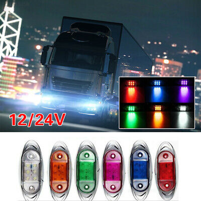 9D65 12V Marker Light Side 6LED Signal