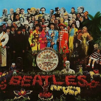 THE BEATLES Sgt. Pepper's Lonely Hearts Club Band LP Parlophone 2016 New Sealed