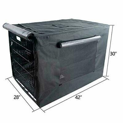 """Extra Large Dog Crate Cover Kennel XL Pet Wire Cage Huge Folding Giant Breed 42"""""""