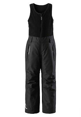 Kids' Reima Oryon Waterproof Winter Ski Pants Black