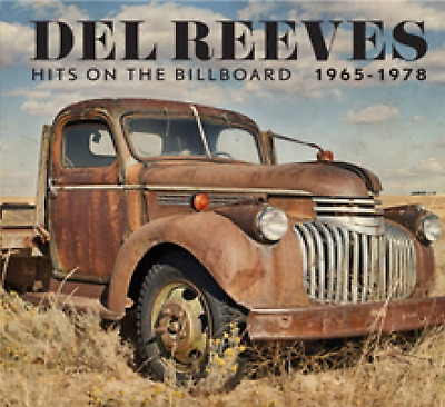 Del Reeves Hits On The Billboard 1965 - 1978 2 CD ALBUM NEW (18TH OCT)
