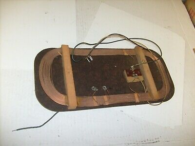 Vintage  Antique Wire  Radio Loop Antenna For Tube And Crystal Radios