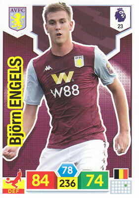 Panini Adrenalyn XL - Premier League 2019-20 - Bjorn Engels - Aston Villa - # 23