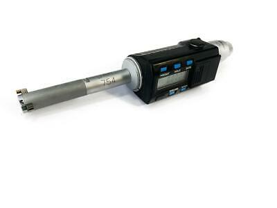 """Mitutoyo 468-234-10 0.5"""" - 0.65"""" Digimatic Holtest ID Micrometer Bore Gage"""