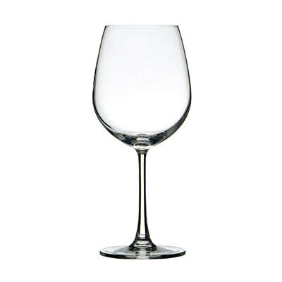 24x Crown Commercial Madison Large Red Wine Glass 600mL Sauvignon Bordeaux