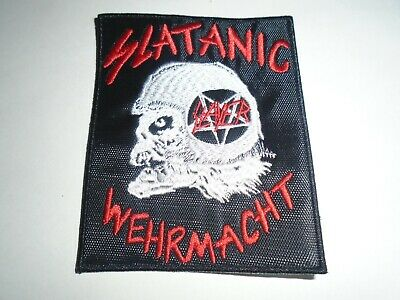 Slayer Slatanic Wehrmacht Embroidered Patch