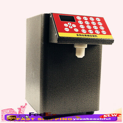 110V Dispenser Bubble Tea Equipment Fructose Quantitative Machine Sugar Syrup US