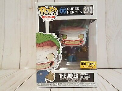Funko Pop! DC The Joker Death of the Family #273 Hot Topic Exclusive Vinyl