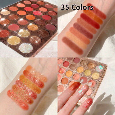 35 Colors Matte Pearlescent Glitter Sequins Eye Shadow Palette Eyeshadow Make up