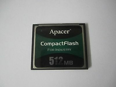 Apacer 512MB CompactFlash CF Memory card   Industrial Compact Flash Card