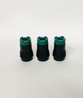 Jagermeister - set of 3 - bottle stopper for Tap Machine JEM (original) - NEW