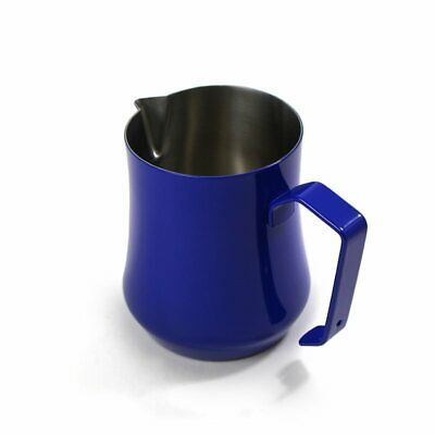 Motta OEM Stainless Steel Pitcher Blue Coffee Jug Barista ,cappuccino 0.50 l