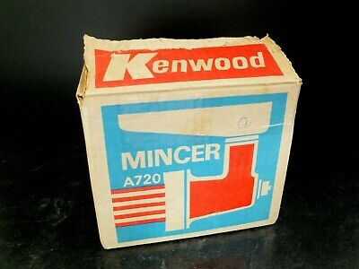 Kenwood A720 Mincer Complete In Box