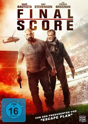 Final Score DVD - Dave Bautista, Ray Stevenson, Pierce Brosnan