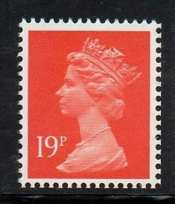 SG X914 19p 2B Booklet Machin PERFED/IMPERF - Unmounted Mint