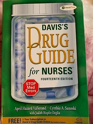 Davis's Drug Guide For Nurses  (14 Edition)