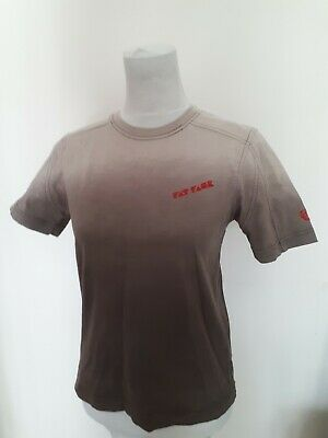 Fat Face Boys Age 10 11 Khaki Green Ombre Tee T Shirt Top Holiday Fashion Wear