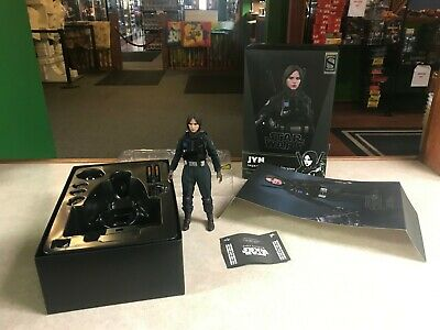 """2019 Hot Toys Star Wars MMS 419 Rogue One Jyn Erso Imperial Disguise 12"""" 1/6 NIB"""