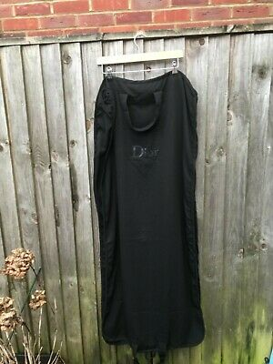 Dior garment bag/cover black soft fabric