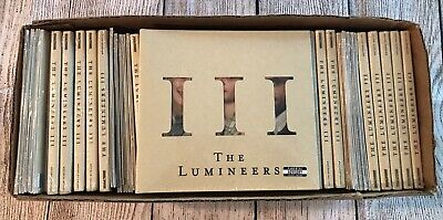 Lot of 50 CDs - The Lumineers - III - Brand New Factory Sealed - Free Shipping
