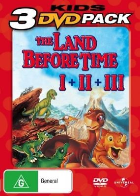 The Land Before Time / Great Valley Adventure / Time of the Great Giving Reg.2&4