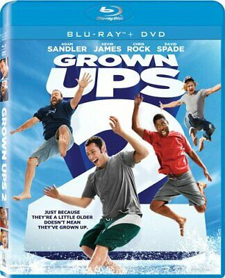 GROWN UPS 2 New Sealed Blu-ray + DVD Adam Sandler Kevin James