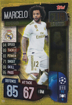 TOPPS MATCH ATTAX CL 2019-20 - Marcelo - Real Madrid - # 298 CLUB LEGEND