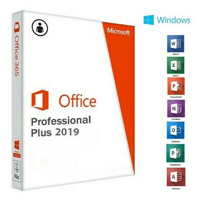 Office 2019 Professional Plus Pro Key 32/64 Bit  Licenza Esd  Fattura Italiana