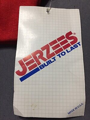 NWT Vintage Jerzees Blank Solid Color Red 50/50 Sweatshirt Sz MEDIUM Made In USA