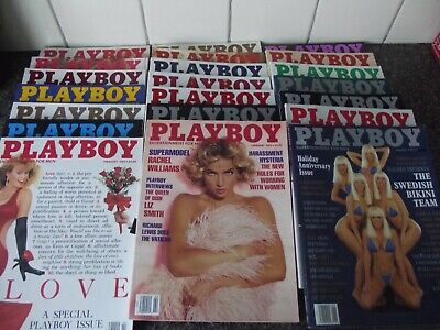 1x vintage playboy, adult book mens magazine 1989,1990, 1992 (1x book only)