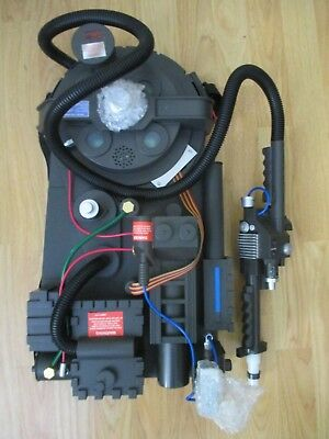 Ghostbusters Deluxe Replica Proton Pack Spirit Halloween w/ Light, Sound - NEW