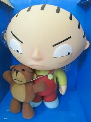 Family Guy Mezco Deluxe Talking Stewie with Rupert - WORKING