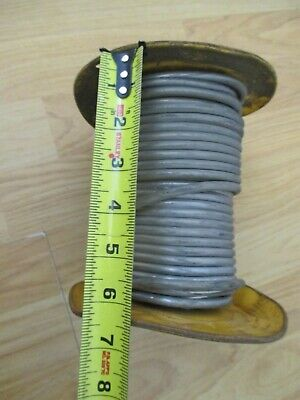 "Vintage Dutch Boy Solid Wire Lead Solder 17 pounds on spool 1/4"" diameter"