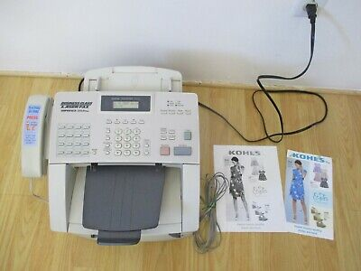 Brother intelliFAX 4100e Business Class Laser Fax Machine, Copy/Fax/Print