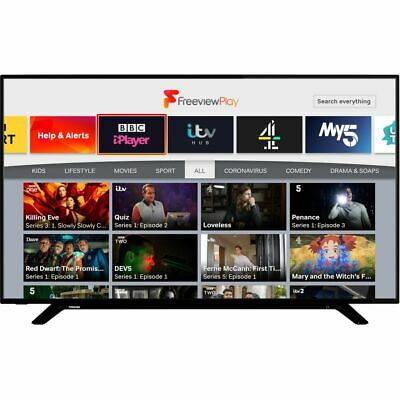 Toshiba 58U2963DB 58 Inch TV Smart 4K Ultra HD LED Freeview HD 3 HDMI Dolby